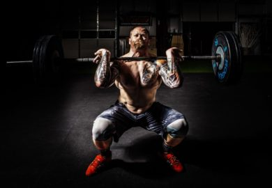 Martwy ciąg ćwiczenie trening
